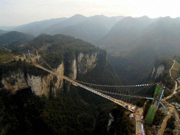 world u0026 39 s highest glass bridge to reopen in october