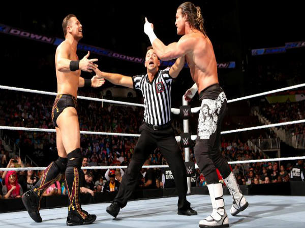 The Miz (left) and Dolph Ziggler for Intercontinental match (Image courtesy: wwe.com)