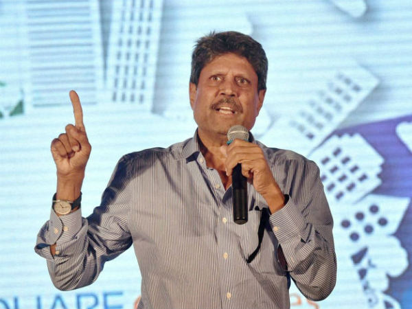 Kapil Dev was fuming over question on Pakistan