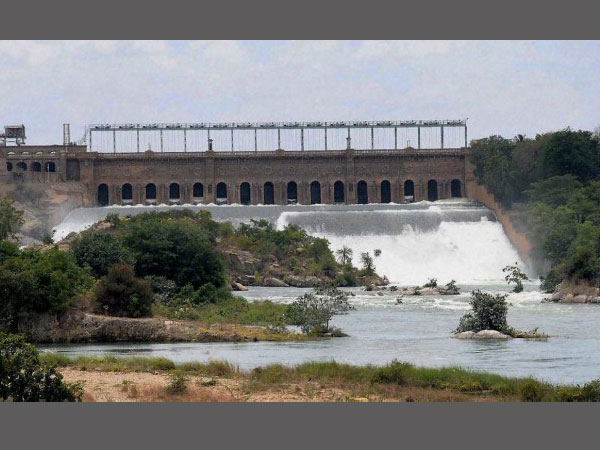 Image result for 6000 cusecs of Cauvery water
