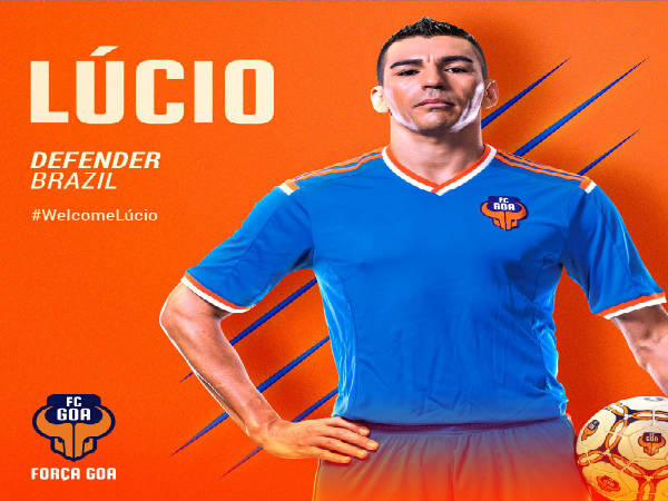 FC Goa welcome Lucio as their marquee player (Image courtesy: FC Goa Twitter)