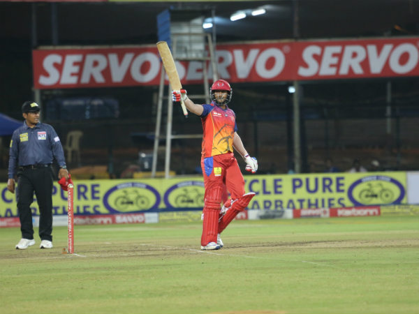 Mayank Agarwal celebrates his century