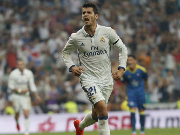 Alvaro Morata in action for Real Madrid (Image courtesy: Alvaro Morata Twitter handle)