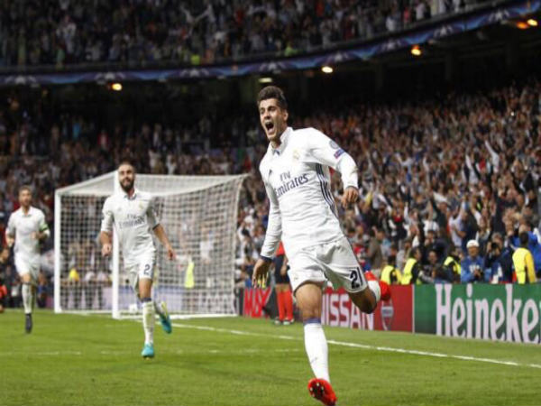 Alvaro Morata celebrates (Image courtesy: Alvaro Morata Twitter handle)