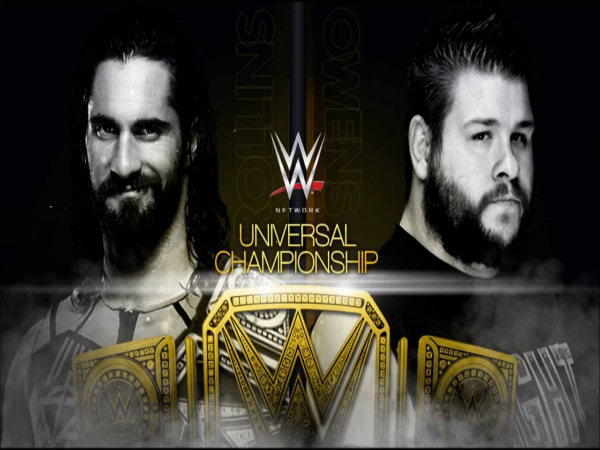 Owens vs. Rollins at Clash of Champions (image courtesy WWE)