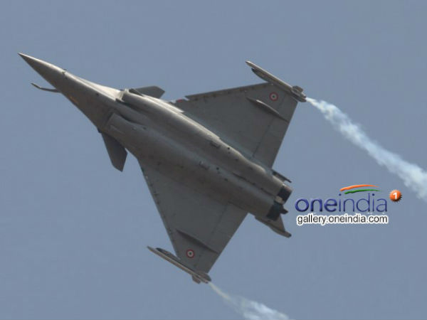 'Rafale contract being worked out'