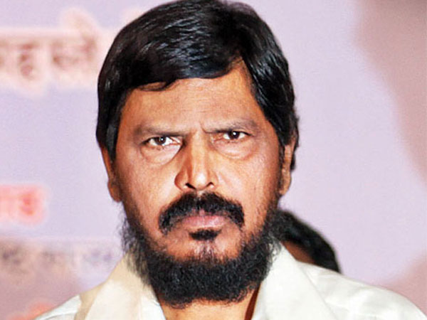 Union minister and RPI (A) leader Ramdas Athawale