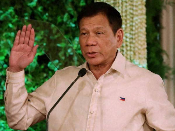 Philippine leader takes a dig at US