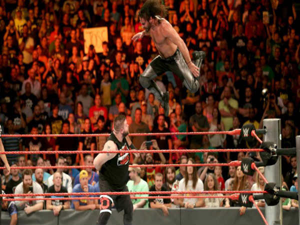 Seth Rollins (top) and Kevin Owens (Image courtesy: wwe.com)