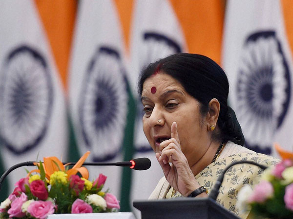Pakistan hits out at Sushma Swaraj