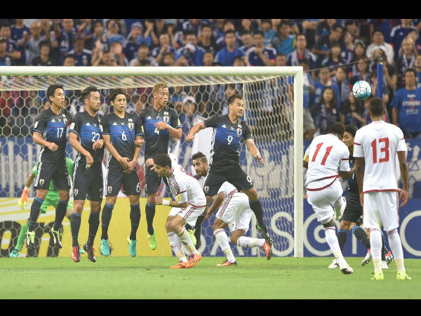 2018 World Cup qualifier: UAE stun Japan with 2-1 win