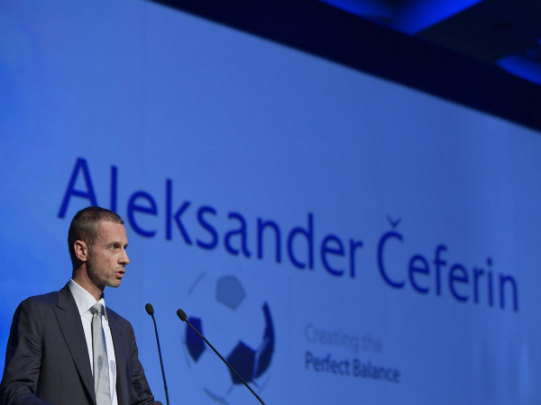 UEFA announce Aleksander Ceferin as their new President (Image courtesy: UEFA twitter handle)