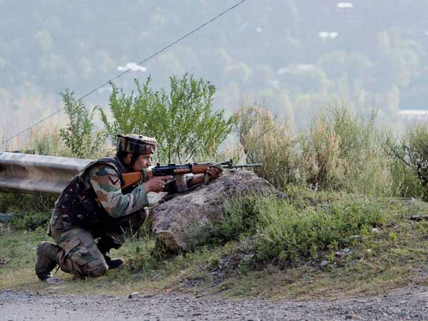 BSF troops open fire at LoC