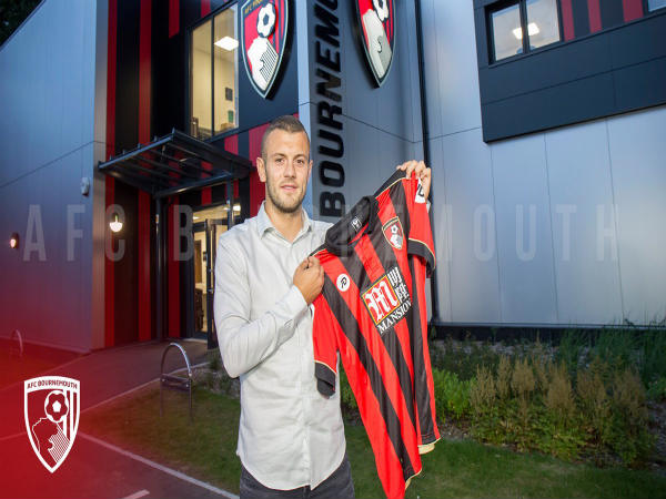 Jack Wilshere unveiled at AFC Bournemouth (Image courtesy: AFC Bournemouth Twitter handle)