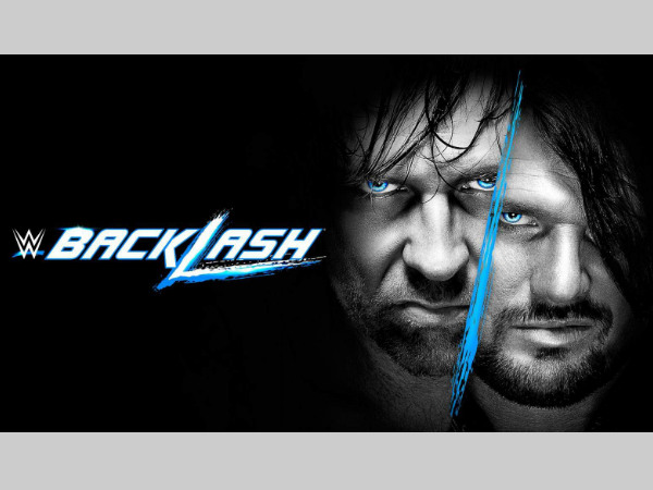 WWE Backlash poster (image courtesy wwe.com)