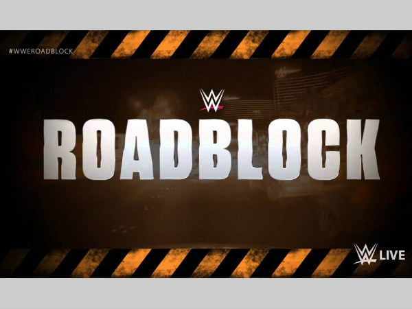 WWE Roadblock is announced for December (image courtesy WWE)