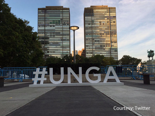 World leaders arrive for the UNGA
