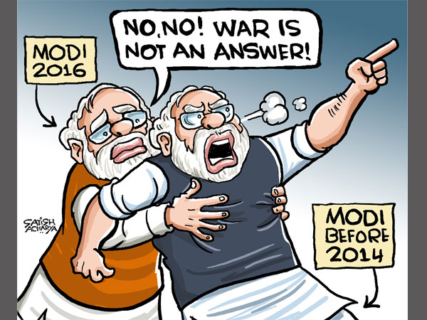 CARTOON: Will India resort to war or dialogue with Pak over Uri?