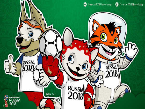 2018 FIFA World Cup mascot candidates (Image courtesy: FIFA World Cup Twitter handle)