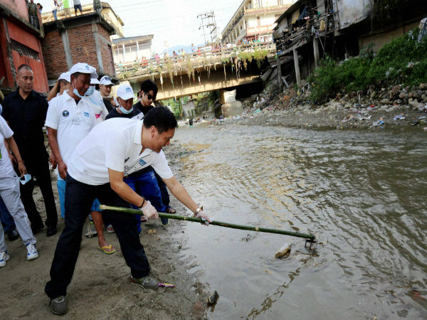 In Pics: Swachh Bharat drive on occasion of Gandhi Jayanti