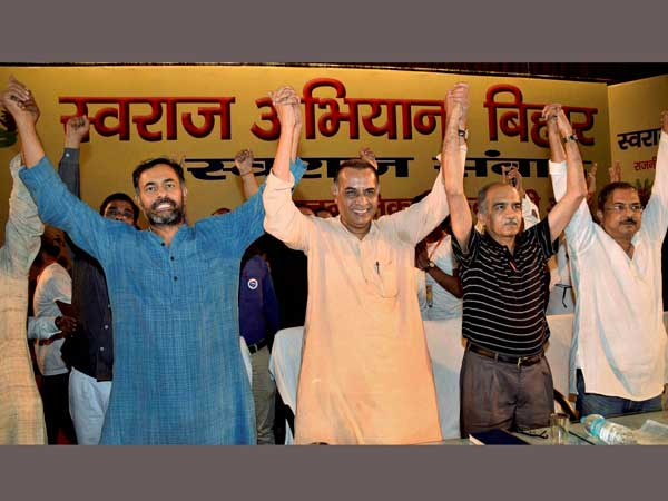 Swaraj Samvad after expulsion from AAP