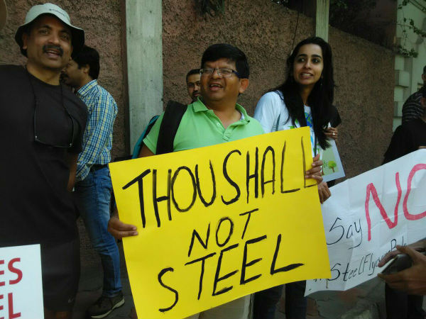 Bengaluru shows steel against proposed steel flyover