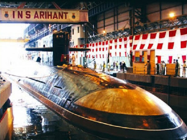Nuclear submarine is part of Indian Navy's ATV project
