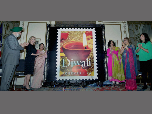 The Diwali stamp