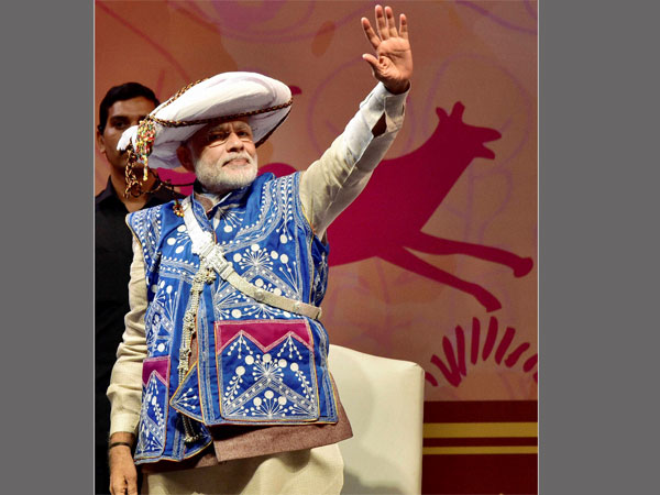 Narendra Modi emphasises on tribal rights