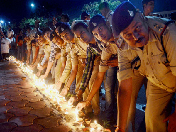 Diwali the festival of light celebrated in India