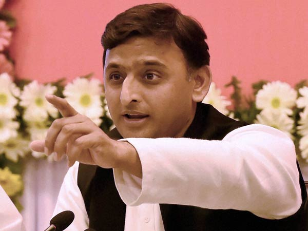 Akhilesh's photo on ration card irks BJP
