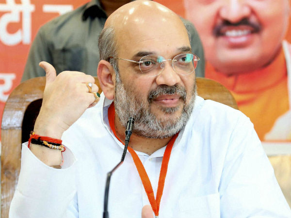 Shah holds meeting with BJP leaders