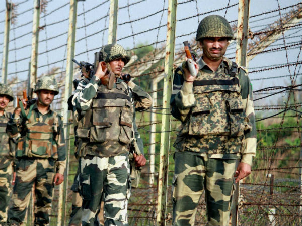 Soldier, woman killed in border firing