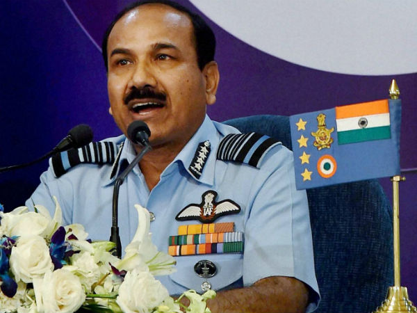 Air force prepared: IAF chief