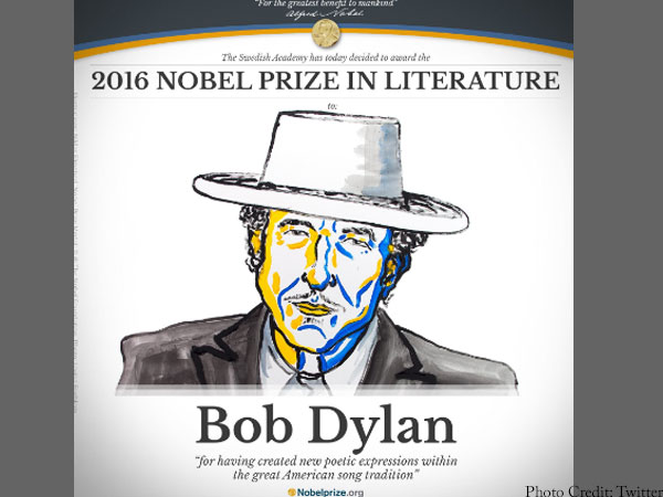 Nobel to Dylan: Humanity recognised