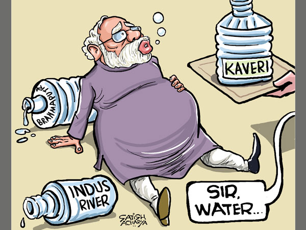 CARTOON: Is the government under a river crisis?