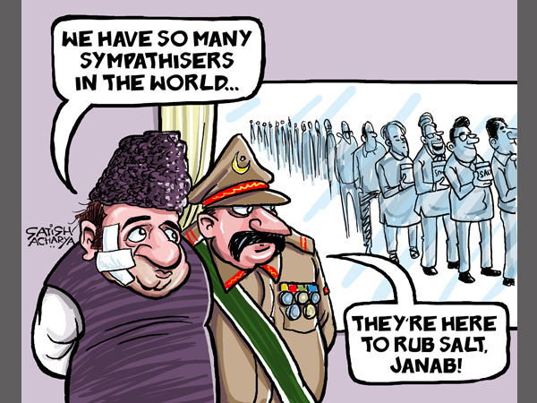 CARTOON: With friends turning foes, Pakistan feels isolated