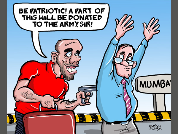 CARTOON: Is hooliganism acceptable in the name of patriotism?