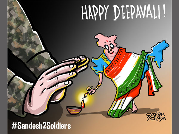 CARTOON: India celebrates Diwali as our jawans watch over
