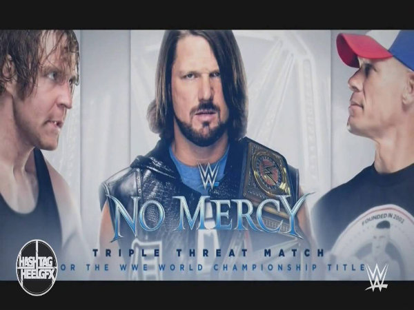 WWE No Mercy 2016 (Image courtesy: WWE Twitter handle)