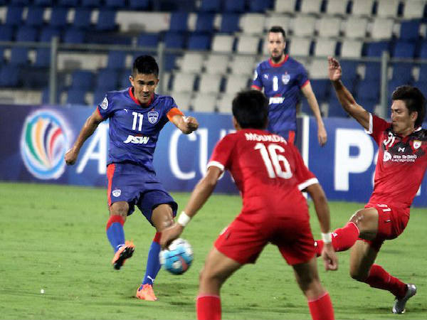 Sunil Chhetri (Image courtesy: AFC Cup Twitter handle)