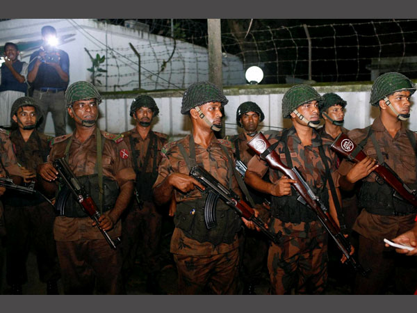 Dhaka attack: Weapons reached in basket