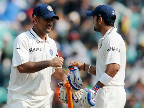 Virat Kohli credits MS Dhoni for inculcating captaincy skills in him