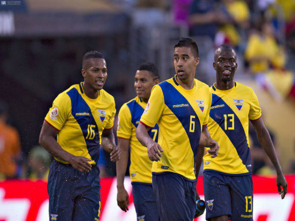 Ecuador players (Ecuador Football Twitter handle)