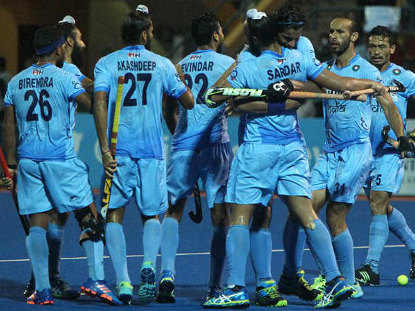 File photo: Indian players celebrate a goal during the Asian Champions Trophy. Photo from Hockey India (HI) Facebook page