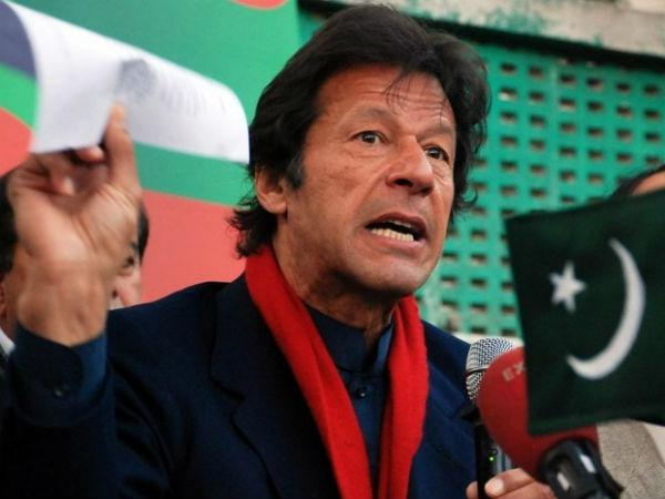 Pakistan Tehreek-i-Insaf chief Imran Khan. PTI file photo