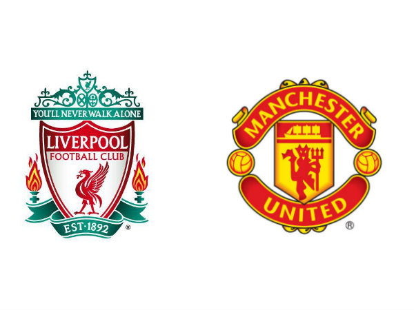 Liverpool and Manchester United logos (Image courtesy: Liverpool and Manchester United Twitter)
