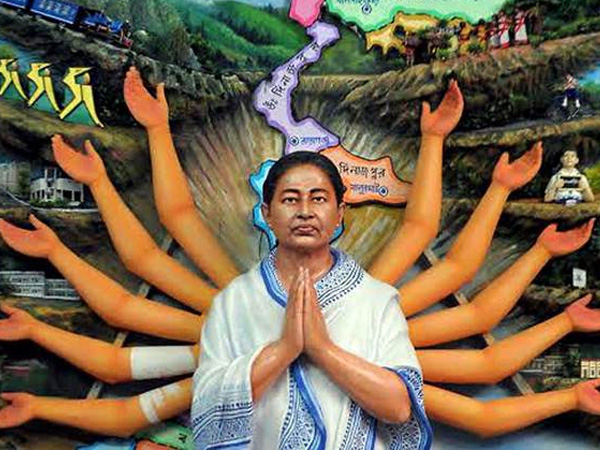 This Durga Puja pray to 'Maa' Mamata Banerjee