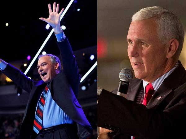 Pence, Kaine face off in debate