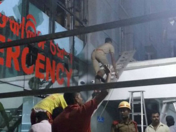 Hospital fire: Four officials arrested
